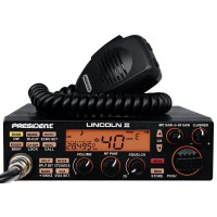 LINCOLN II Uniden mobile AM/FM/USB/LSB CB radio